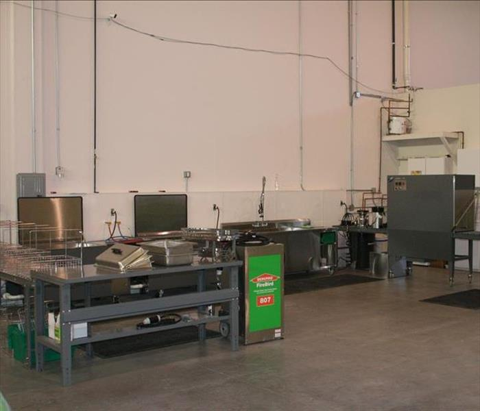 SERVPRO of Joliet - Ultrasonic Cleaning Station
